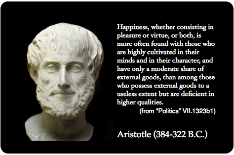 Did aristotle mean his essay politics